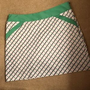 Ladies Golf Skort Annika by Cutter & Buck Size 10